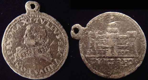 Julius II (1503-13) Palazzo dei Tribunali Medal Photo