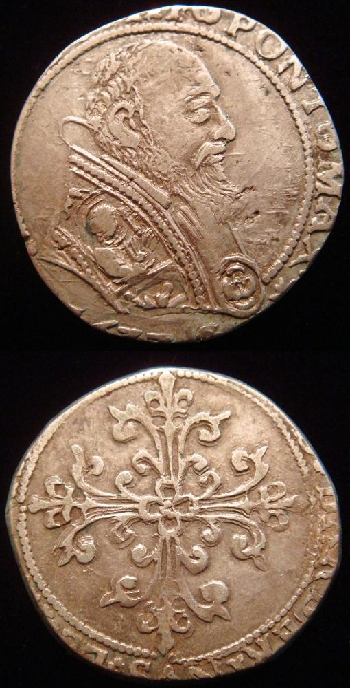 Urban VIII (1623-44) Avignon Half Franc Photo