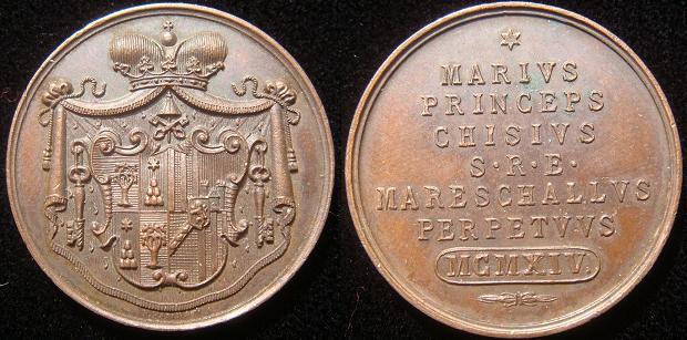 Sede Vacante 1914 Chigi Medal Photo