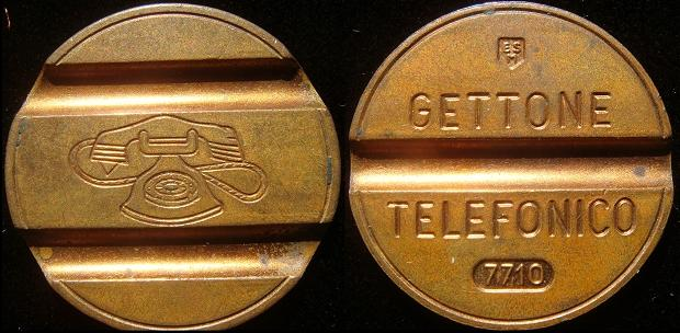 1977 Italy Telephone Token (Gettone) Photo