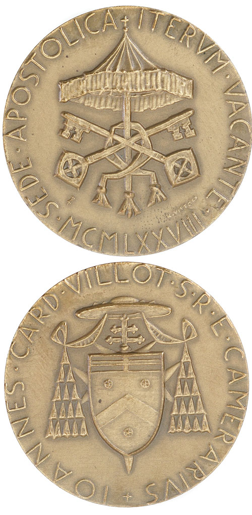 Sede Vacante 1978, September, Bronze Medal Photo