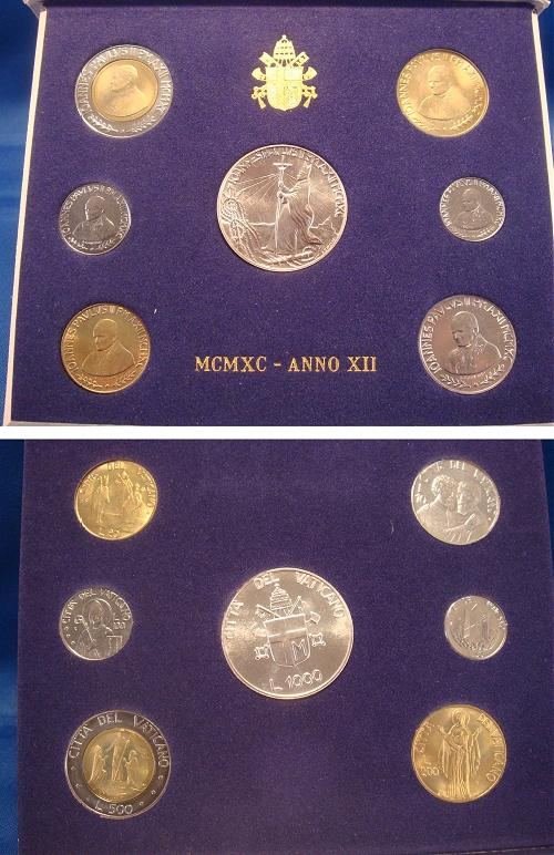 1990 Vatican Coin Set, Fall of Communism Photo