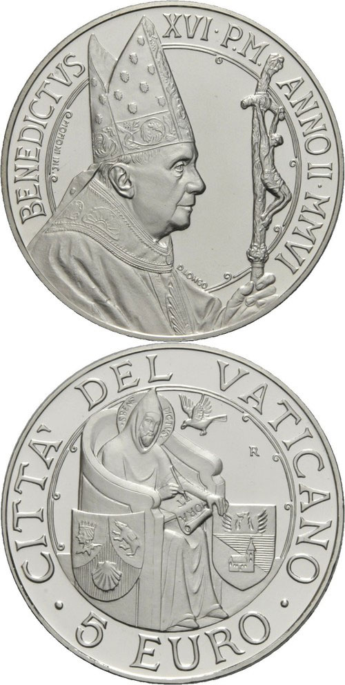 2006 Vatican 5 Euro World Day of Peace Photo