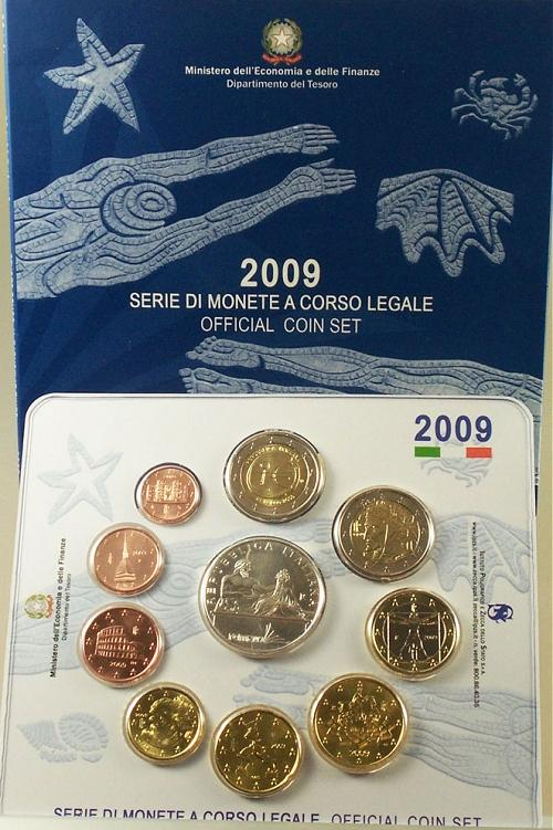 2009 Italy Mint Set, FINA Swimming Championship Photo