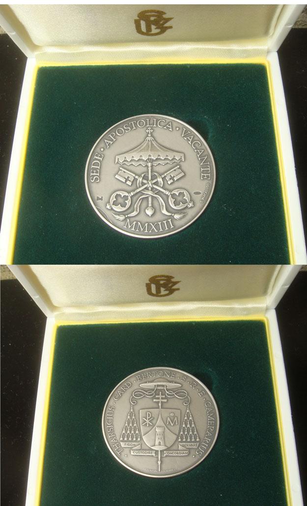 2013 Sede Vacante Silver Medal Photo