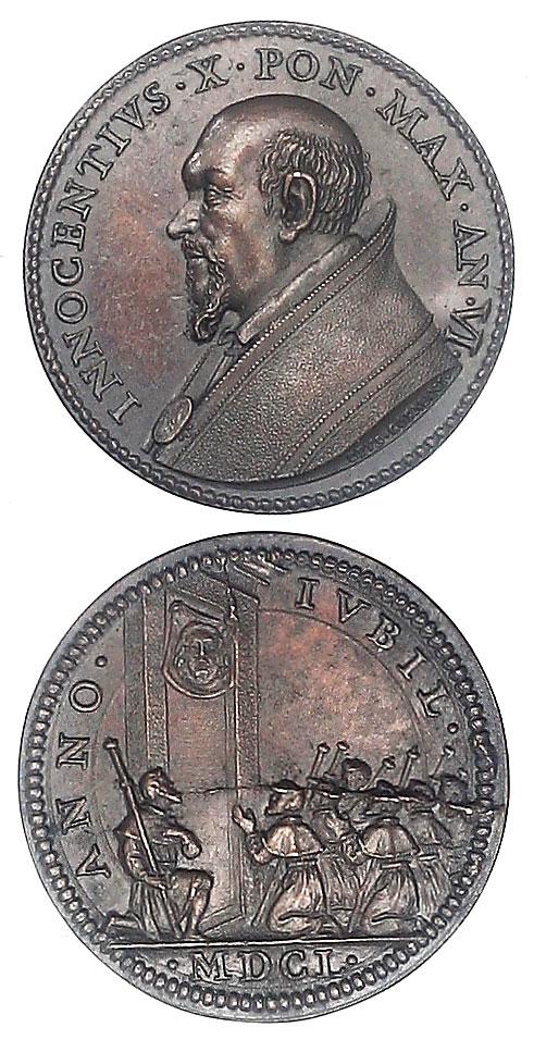 Innocent X (1644-55) Veronica's Veil Photo