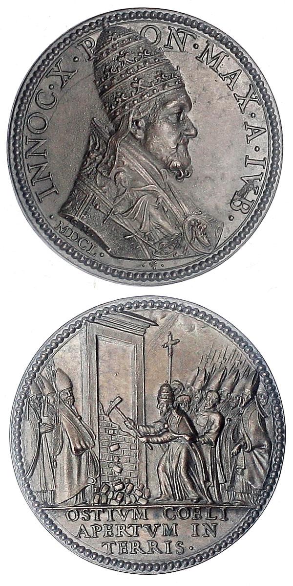 Innocent X (1644-55) Opening Holy Door Photo