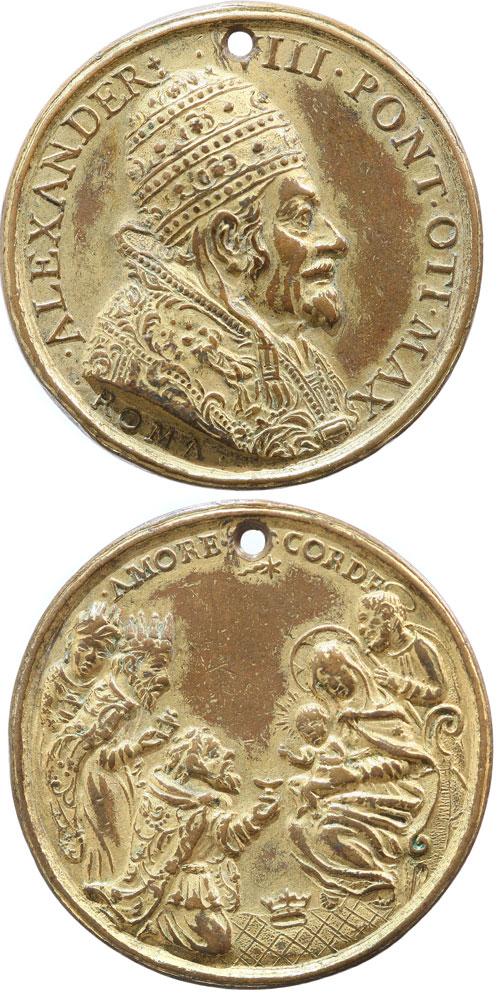 Alexander VIII (1689-91) 3 Wise Men, ORIGINAL Photo