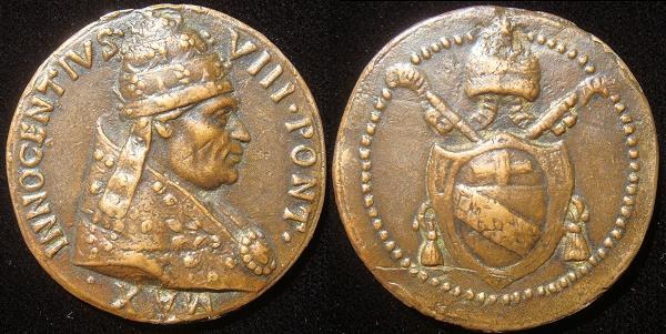Innocent VIII (1484-92) Coat of Arms Photo