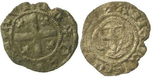 Savoy 1391-1434 Obolo bianchetto Anti-Pope Felix V Photo