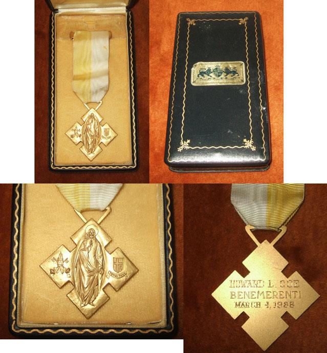 1988 Vatican Benemerenti Medal, John Paul II Photo