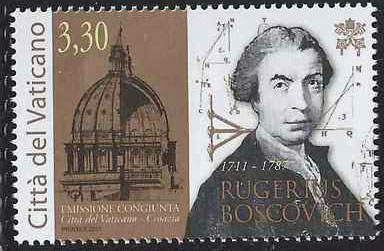 2011 Vatican Stamp of Rugerius Boscovich Photo