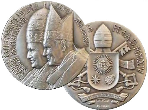 2014 Canonization John XXIII & John Paul II Photo