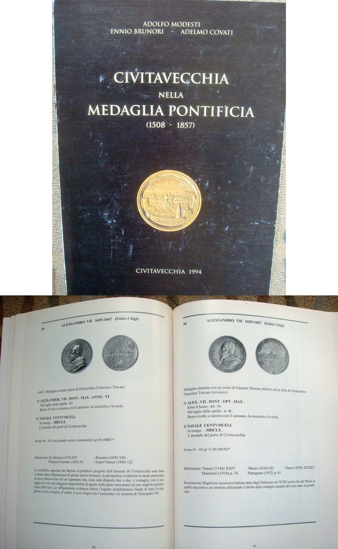 Civitavecchia Medaglia Pontificia (1508-1857) Photo