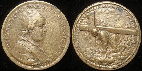 Clement XIV (1769-74) The Via Crucis Photo