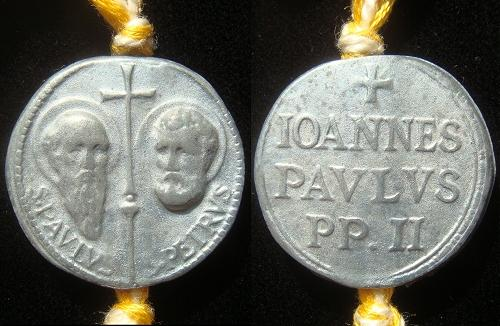 John Paul II Seal (Bulla), WM 26mm Photo