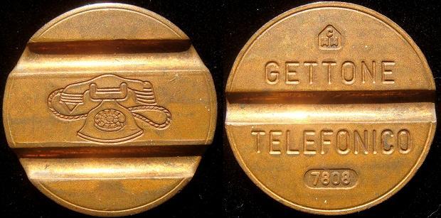 1978 Italy Telephone Token (Gettone) Photo