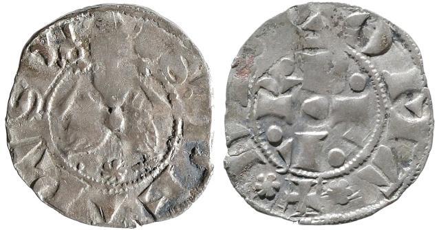 Gregory XI (1370-8) Bolognino Romano F-VF Photo