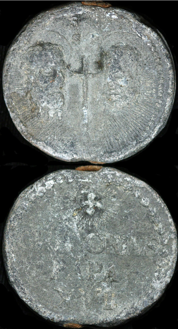 Gregory XVI (1831-46) Lead Seal, Papal Bulla Photo