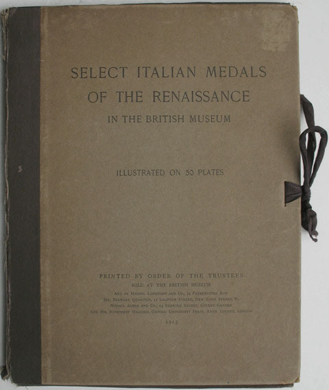Select Italian Medals of the Renaissance Photo