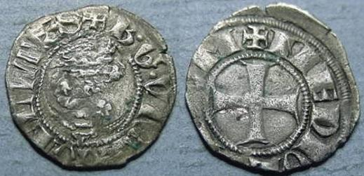 1355-78 Milan Sesino, Bernabo Visconti Coin Photo