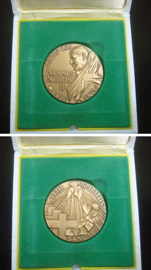 John Paul II A.XX Bronze The Holy Spirit Photo