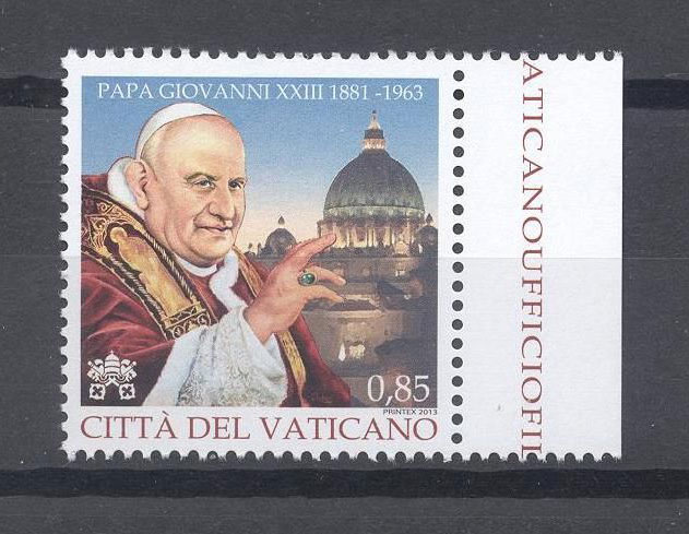 50th Anniversary Death of John XXIII Stamp Photo
