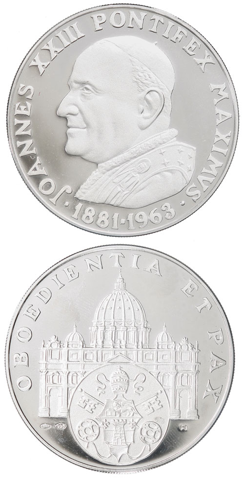 John XXIII In Memoriam 1881-1963 Ar Proof Photo