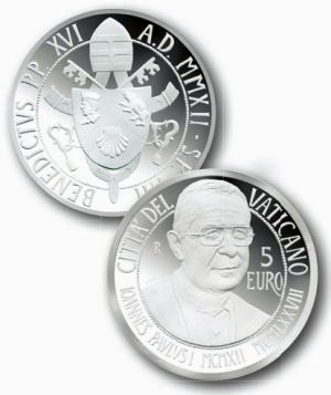 2012 Vatican 5 Euro John Paul I Photo