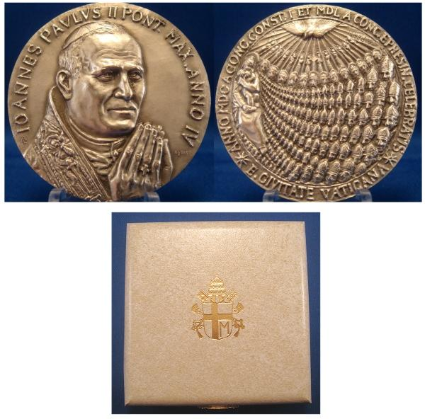 John Paul II Anno IV Silver Medal Photo