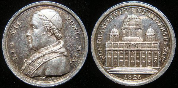 Leo XII 1826 Silver Medal 14.7mm Photo