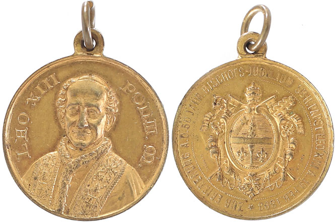 Leo XIII 1893 50th Ann. Consecration as Bishop Photo