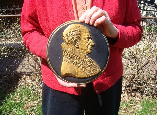 Leo XIII (1878-1903) Plaque 20cm Photo