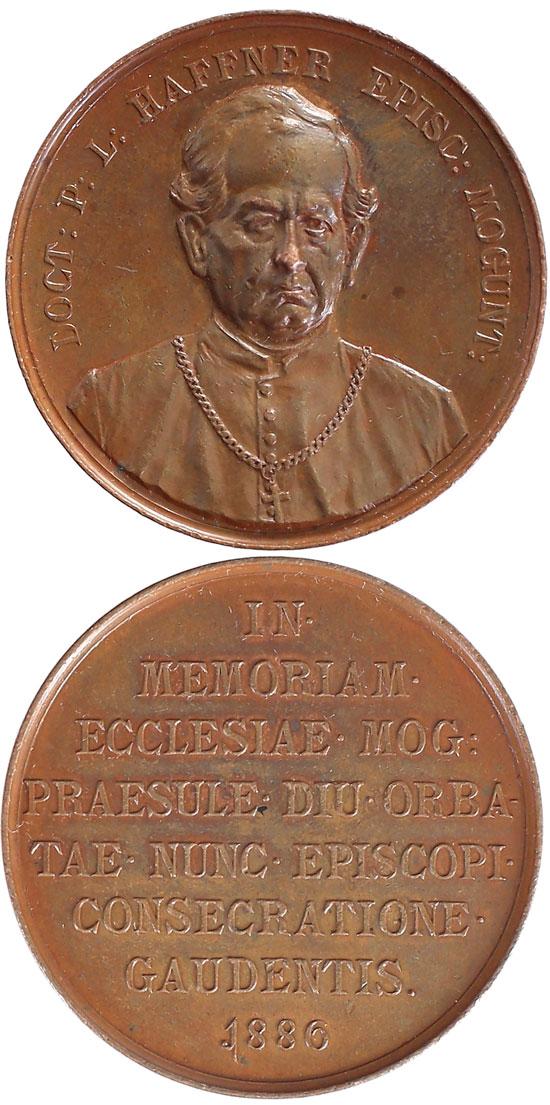 1886 Paul Leopold Haffner Bishop of Mainz Photo
