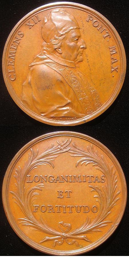 Clement XII (1730-40) Portrait Medal Photo