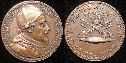 Clement IX (1667-9) Election Medal Photo