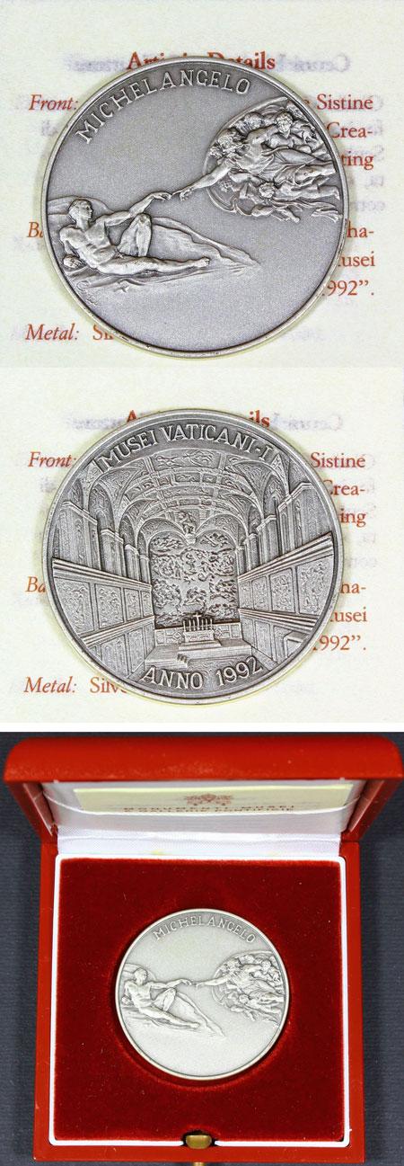 Vatican Museum 1992 Medal I Photo