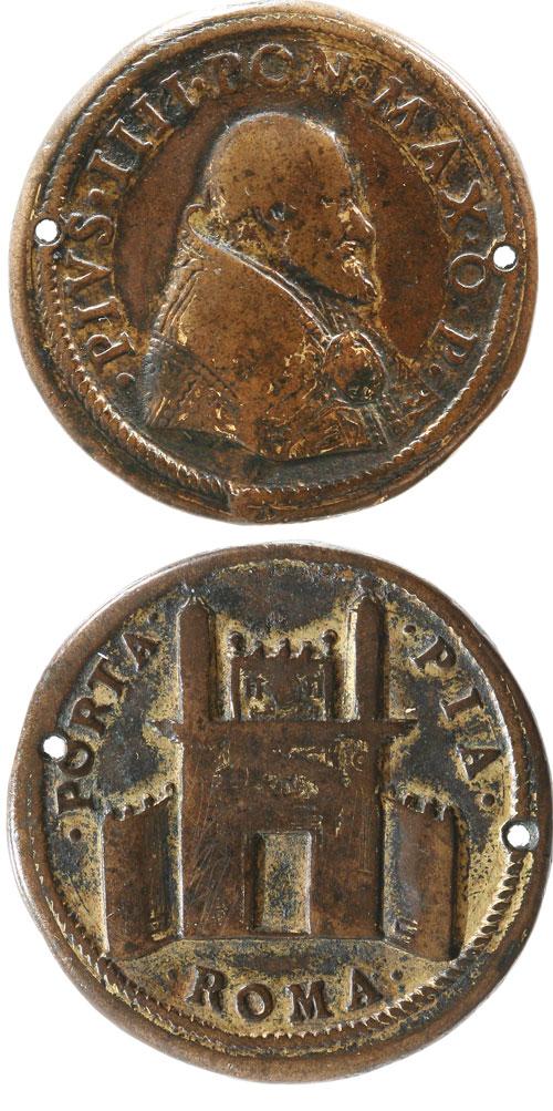 Pius IV (1559-65) Construction of Porta Pia Photo