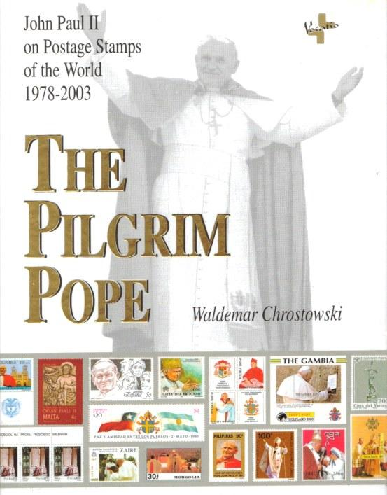 Pilgrim Pope - John Paul II Stamp Book Photo