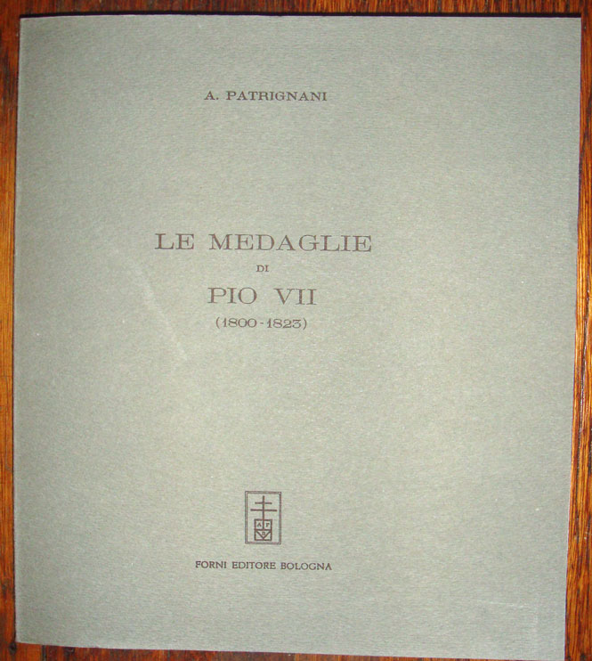 Le Medaglie di Pio VII (1800-23), Patrignani Photo