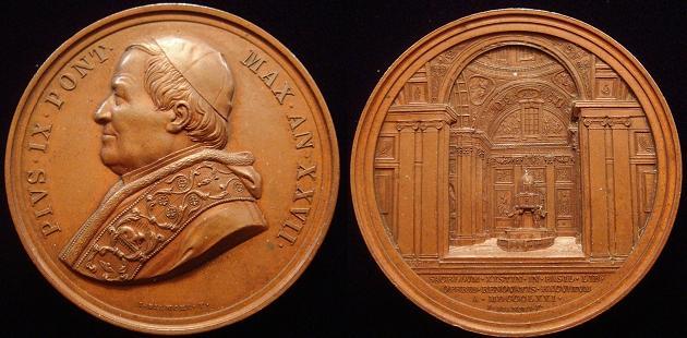 Pius IX (1846-78) A.XXVII S. Maria Maggiore Photo