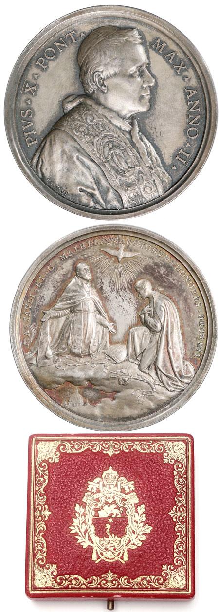 Pius X (1903-14) A.II Ss. Sauli & Majella Photo