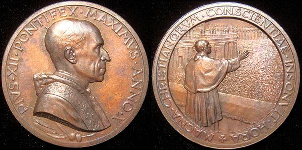 Pius XII (1939-58) Anno X Easter Address Photo