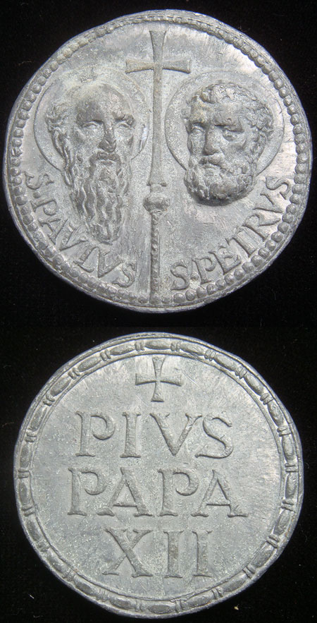 Pius XII Seal (Bulla), WM 38mm Photo