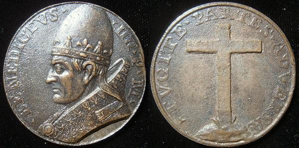 Benedict IV (900-3) Cast Bronze Medal Photo