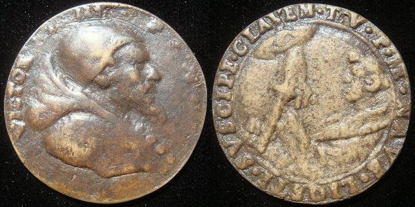 Victor III (1086-7) Cast Bronze Medal Photo