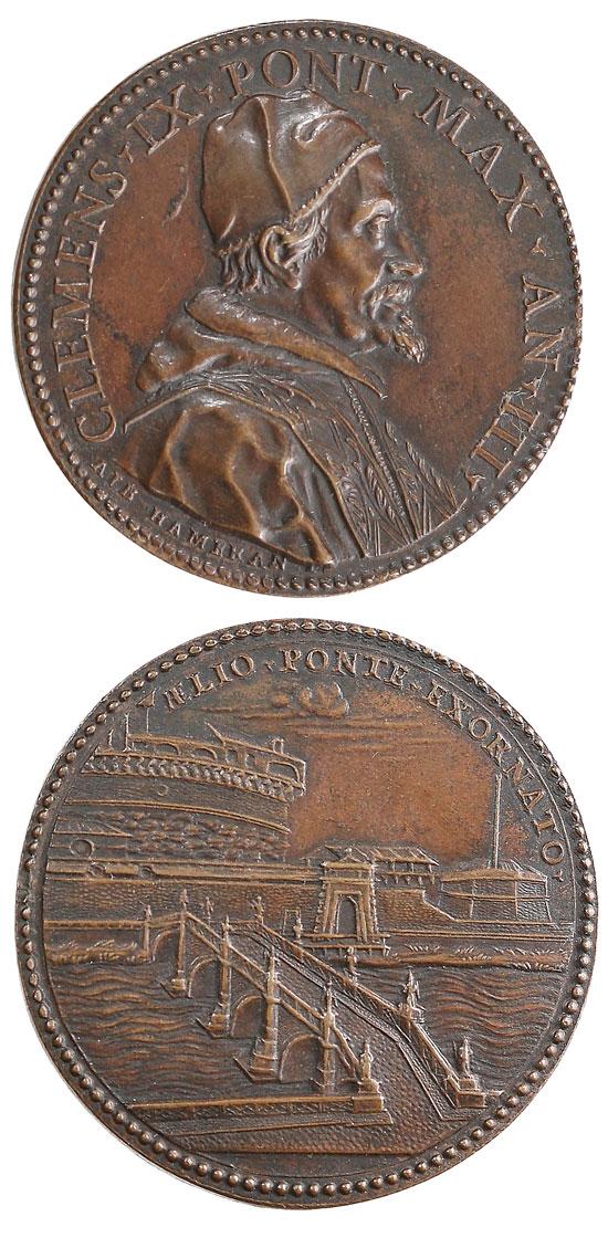 Clement IX (1667-9) Ponte Sant'Angelo Photo