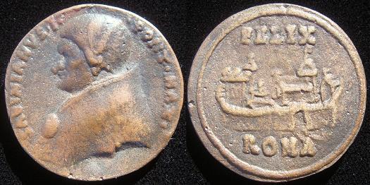 Sabinian (604-6) Cast Bronze Medal Photo