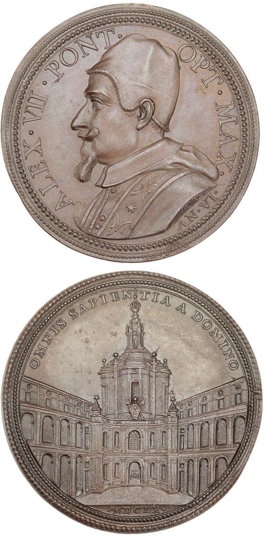 Alexander VII (1655-67) St. Ivo alla Sapienza Photo