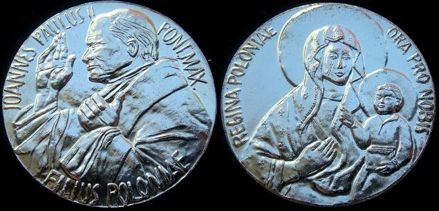 John Paul II Son of Poland Medal 44mm Photo